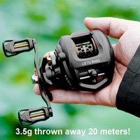 3.5g Jetez 20 mètres Lieyuwang LC3000 Lure Fishing Bobine 190g. Rapport 6.3: 1 5,5 kgs Single ou Double frein, n ° 2 Line 100-150m1