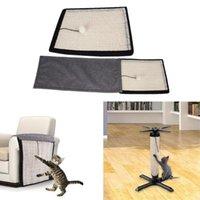 고양이 침대 가구 Sisal Scratcher 보드 긁힘 포스트 매트 자연 높은 인장 강도 마모 저항 장난감 보호 커버 패드