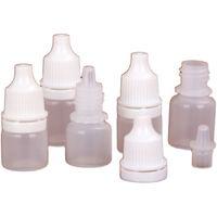 2ml 3ml frasco pequeno, amostra gotas do olho da garrafa do conta-gotas, tubo vazio para cola, recipiente cosmético do aperto macio plástico
