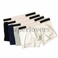 Trendy Brand Underpants Luxurys Men Cotton Boxers Designers Breathable Mens Underwear Comfortable Boxer Shorts Male 5 Colors Panties