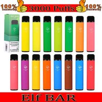 Elf Bar 1500 Puffs E-sigaretta Dispositivo di pod monouso E-sigaretta 1500Puffs 850mAh Battey 4.8ml Pods Cartridge VAPES Kit monoblocchi 16 colori 2% NI Forza vs Puff Plus Flow LUX