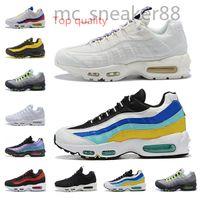 Nike Air Max 95 2021New Fashion Men Donne Scarpe Casual Laser Fucsia Plant Plant Color Neon Mens Sport Sneakers Trainer all'aperto Dimensione 36-45