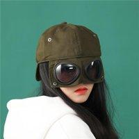 공 모자 2021 여성, 안티 타액 / 바람 모래, 고글, 슈퍼 쿨 첨단 모자 맨 야구와 함께 듀얼 사용 유니섹스 모자