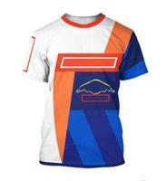 2021 Summer F1 Racing Camisetas para hombres y mujeres, Sudaderas de manga corta de secado rápido, Tallas grandes, El mismo estilo se puede personalizar