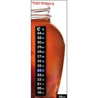 Fishing Tank الملحقات ترمومتر كاربوي تخمير البيرة البيرة خزان درجة الحرارة ملصقا لاصق لزجة مقياس WCX Home2006