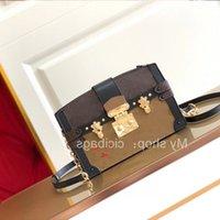 Designer luxurys weiche kreuzkörper lederkasten verkauf damen hochwertige heiße mode tasche handtaschen anmutig messenger schulter nach rnmu
