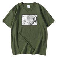 Kısa Kollu Yumuşak erkek T Gömlek Boy S-XXXL Tee Gömlek Japon Karikatür Haikyuu Baskı Üst Crewneck Moda T Shirt Adam Y0526