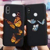 Custodia Cute Butterfly Case per Xiaomi Redmi Nota 9S 9 8 7 6 5 K20 10x Pro Max 4x Copertura TPU Silicon per Redmi 10x S2 7A 8A Funda