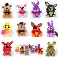 Plüschspielzeug 15 cm 25 cm Fünf Nächte bei Freddy FNAF Puppen gefüllte Spielwaren Golden Freddy Fazbear Mangle Foxy Bär Bonnie Plüsch Gefüllte Tierspielzeug