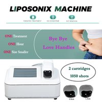 2021 Permanent liposonix body shaping fat loss slimming machine 2 cartridges 300w high power for slimmer toned firmer waist and tummy CE approved
