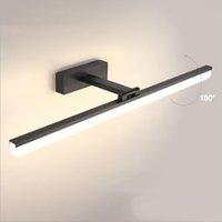 Luz de pared LED para baño Lámpara de espejo de vanidad Aluminio Acrílico 40 cm para imagen de escoce Home Impermeable Maquillaje 12W