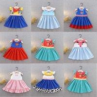 Gonna Gonna Cartoon Princess Tutu Party Dress Vestito per bambini Bambini Abiti Bambini Vestiti estivi Baby PICE PIZZO PIZZO PIZZO PAGAMENTO STORICO NATURO Ringraziamento natalizio G60FMXF