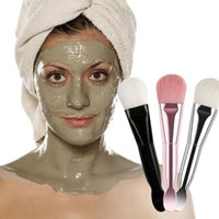 Makeup Brushes Double-headed Mask Soft Brush With Scoop Portable Face Skin Care Beauty Cosmetics Tools Professional Silicon