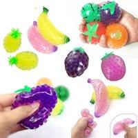 DHL Fruit Jelly Water Stuff Funny Stress Relefante para niños adultos novedad Anti-Ansiedad Alivio de estrés Squeeze Squishy Ball Juguete