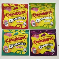 500 mg ekşi meyveler tropikal cannavurst şeker ekileri şeker ambalaj çanta çapraz sınır ambalaj çanta çerezleri sıcak satış gummies çanta DWC6312