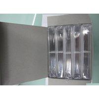 Caixas de caneta Acrílico caso transparente Pen Holder presente para Caixa de embalagem de caneta de cristal como fe jllljc luta2010