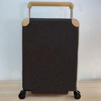 Viaggi valigia bagaglio bagaglio moda uomini donne tronco borsa fiori stampa stampa trolley custodia universale rotella borse da doccia