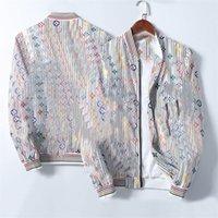 2021 새로운 디자이너 겨울 재킷 맨 겉옷 폭격기 자켓 최고 품질 부드러운 부드러운 브랜드 자켓 인쇄 편지 자수