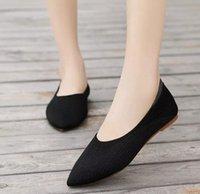 Женщины Квартиры Повседневная Обувь Женщина Плоский Растягивающую Обувь Винтаж Винтаж Ткань Weave Light Soft Chaussures Femme Zapatos Mujer Sapato N198 52HB #
