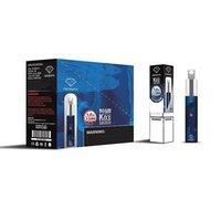 Autentisk Memento K03 Engångs POD-enhet med RGB-ljus 1500Puffs Vape Pen 850MAH E-Cigarettes Kit 4.8ML Kit DHL Gratis