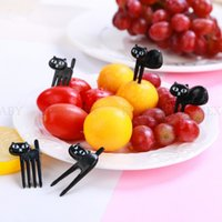 Mini Kids Animal Farm Fruit Fork Cartoon Snack Cake Dessert Food Fruit Toothpick Lunch Party Decoration