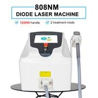 2021 Профессиональный диодный лазерный станок для удаления волос 808 нм Оборудование постоянно ледяное платиновая лазевая ручка 30 миллионов выстрелов
