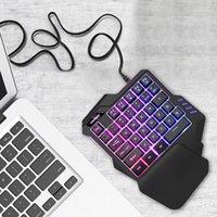 G92 Big Manuale Rest Macro Registrazione Tastiere di respirazione Light Light Wired Wired RGB Retroilluminazione Metal Indietro Cover Gaming Keyboard per PC