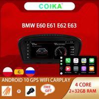 """8.8 """"Android 10.0 Systeem Auto DVD-speler voor BMW E60 E61 E62 E63 E90 E91 E92 E93 BT SWC GPS NAVI RADIO 2 + 32G RAM"""