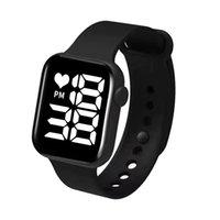 Digital Esporte Relógio Mulheres Relógios de Borracha Digital LED eletrônico relógio de pulso de pulso à prova d 'água aptidão relógio de pulso homens garota garoto horas