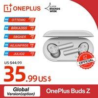 Global Version OnePlus BUDS Z Беспроводные наушники OnePlus Официальный магазин TWS Bluetooth 5 Быстрая заряд IP55 для OnePlus 9 9PRO 9R 8T