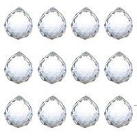 40mm Kristallkugel Prisma Kristallglas Kugel Kronleuchter Verzieren Hängende Facettierte Prismenkugeln Perlen Hochzeit Wohnkultur HHB8808