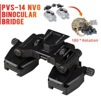 نظارات الرؤية الليلية Skip Skip Rhino Night-Vision NVG Arms Mount for L4 G24 تركيب خوذة CNC Fast Ops PJ MH BJ Mich CL24-0231