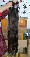 Редкая длина 40 42 дюймов натуральный здоровый донор вьетнамских человеческих волос 100 г / шт.