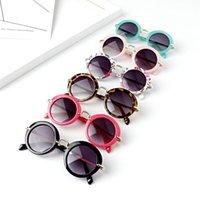 Sommer Mädchen Jungen Sonnenbrille Runde Kinder Sonnenbrille Kind Outdoor Sonnenbrille Baby Vintage Brillen Kinder Strand Sonnenblock A7297