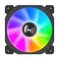 JONSO FR925 PC Computer Case Wentylator 9cm Ultra-Cichy ARGB Wody chłodzące PWM Ciche RGB 90 mm Wentylator Wentylatory Chłód