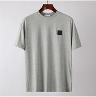 Tasarımcı Erkek Tişörtleri Yaz Erkek Kadın Yüksek Quanlity Kısa Kollu Nakış Rozeti Gömlek erkek T-Shirt Giysi Üst Tees Boyut S --- 4XL