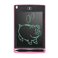 Papel de desenho eletrônico de 8,5 polegadas LCD escrita tablet digital tablets gráficos caligrafia placas de almofada com caneta