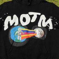 Mode Outlet III CPFM pour MOTM Kid CUI COM Sweat à capuche imprimée en mousse de marque