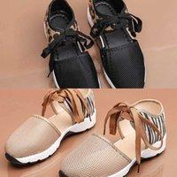 Sapatos Casuais Mulheres 2021 Verão Novo Flat Bottom Sports Lace Up Leopard Single 3R4L