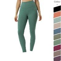 Yoga Kıyafet Spor Malzemeleri Lulu Hoge Taille Spor Tayt Vrouwen Seksi Naadloze Elastische Egzersiz Spor Broek Push Up Slange Elasticit