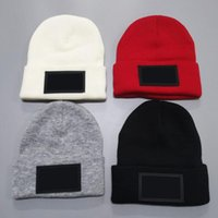 5PCs Winter Christmas Hats For man woMen sport Fashion Beanies Skullies Chapeu Caps Cotton Gorros Wool warm hat Knitted cap 4colors white black red
