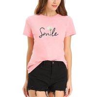 Frauen T-Shirt Panik Einkaufen von Grafik T-shirts Alphabetischer Druck T-Shirt Reiner Baumwolle Kurze Ärmeln T-Shirts für Frauen