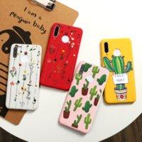 Цветочный кактус Крышка для Xiaomi Redmi Note 9S 9 8 8T 7 PRO 10X Чехол для MI Note 10 9 SE CC9 Pro A3 Lite A2 CC9E 6x Funda Etui