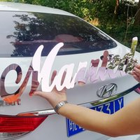 Party Decoration Custom Mirror Rose Gold Name Sign Personalized Acrylic Wedding Signs Decor Backdrop Wall Hanger