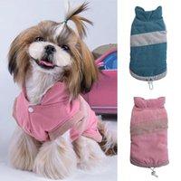 Bonito pequeno cão pequeno gato aquecido veste de inverno cor bloco de cachorro filhote de cachorro gato cão roupas para pequenos cães médios camisetas tamanho xs-xl yl5