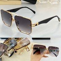 TEL II 새로운 남성 안경 자동차 패션 선글라스 탑 야외 UV400 선글라스 사각형 모양의 금속 프레임의 사각형 모양 선택 상자