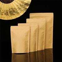 Bolsa de papel kraft bolsa de alumínio fofo chá snack de café armazenamento de café Sacos de café Pacote de prova cheire