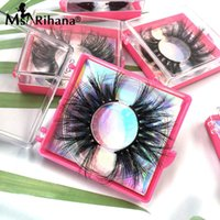 False Eyelashes Wholesale 25MM Mink Lashes Square Box Package Wispy Fluffy 3D Magnetic Vendors Thick Natural 5D Lash Extension