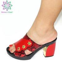 Dress Shoes Rhinestone Women Wedding Elegant Sandals Nigerian Pumps Shoe For Party High Quality