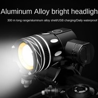 Bike Lights Waterproof 1.5W LM T6 Led Light Bicycle Set Usb Rechargeable Headlight Zoomable Cycling Lamp For